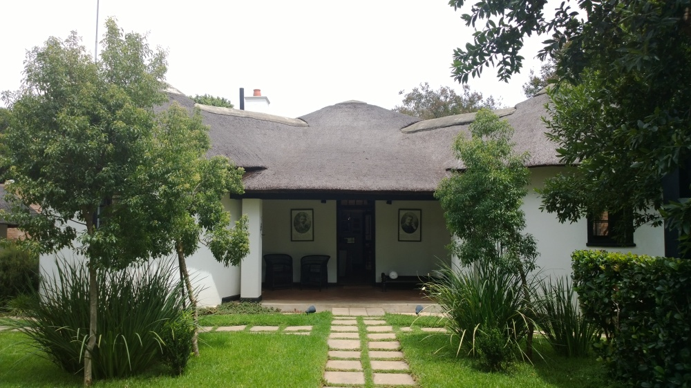 The house where Gandhi lived